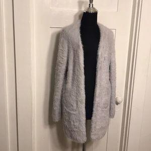 Free People xs New with Tags XS grey cardigan